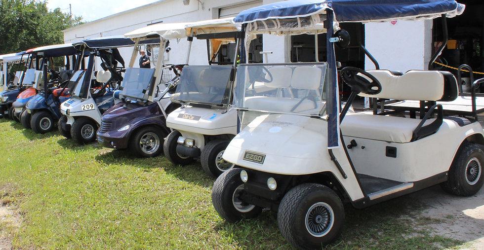 McCarty's Carts Lineup of Carts