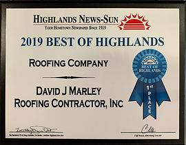 Marley Roofing Best of Highlands 2019.jp