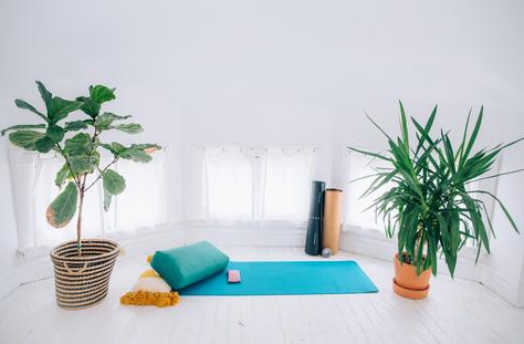 How to practise yoga at home