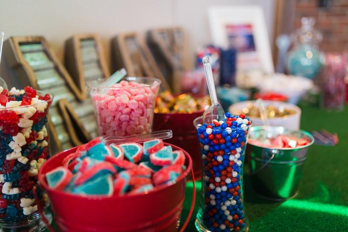 Bar mitzvah candy bar