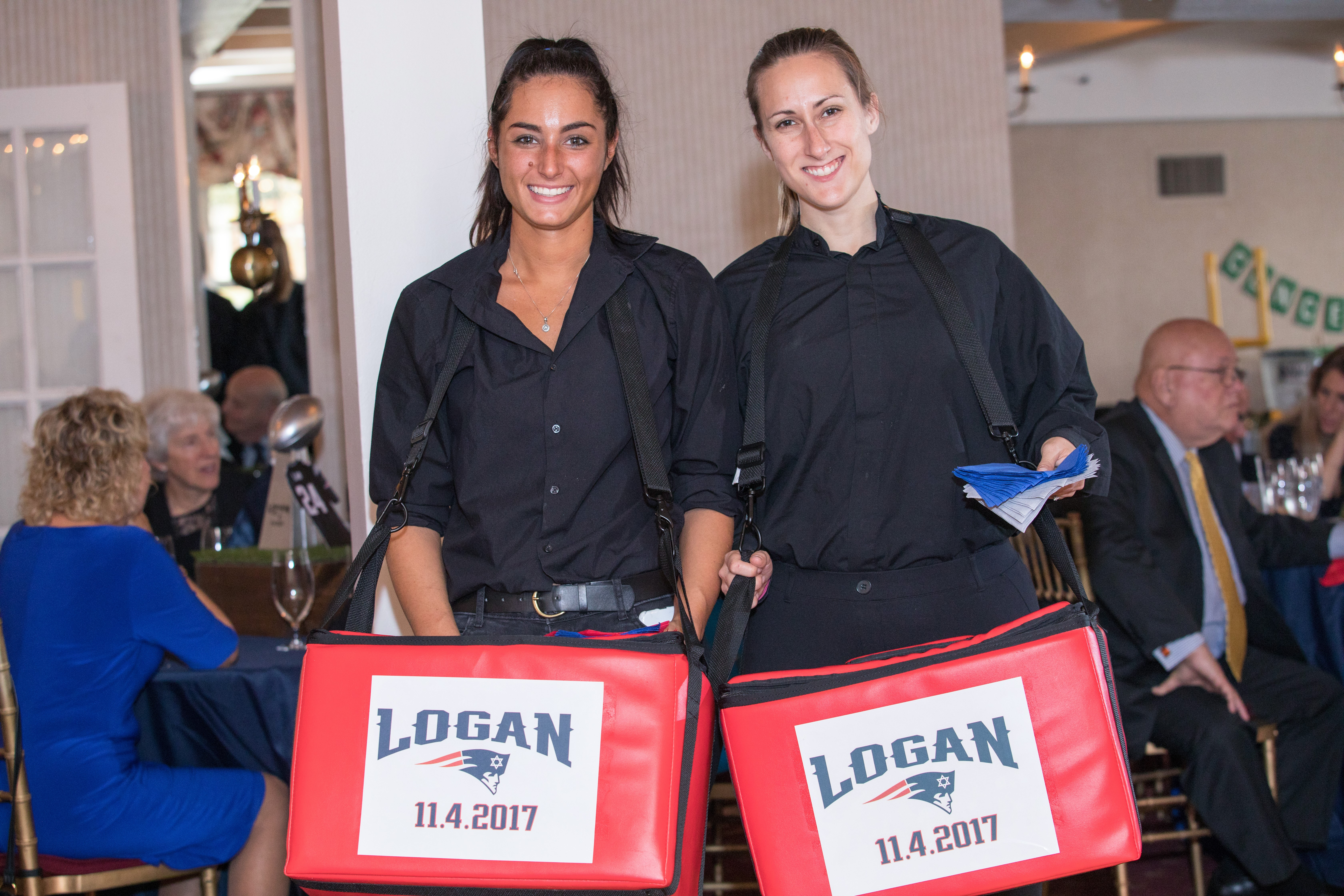 Logan Shapiro Bar Mitzvah - Staff