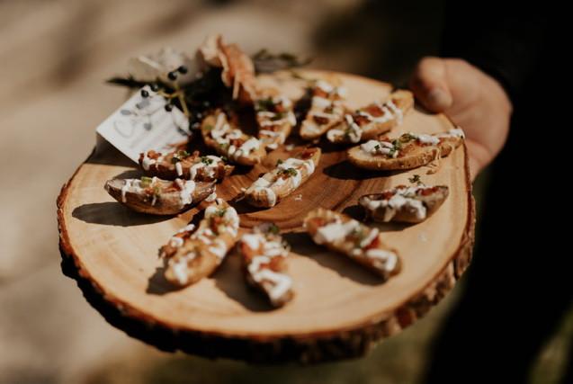 Hand Passed Hors D'oeuvres | Mini Fingerling Potato Skins