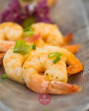 Tropical Seared Shrimp