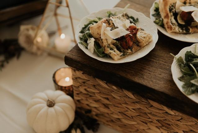 Small Plates Roasted Vegetable Tart