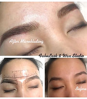 Eyebrow Hairline Stroke Permanent Makeup  (Microblading)
