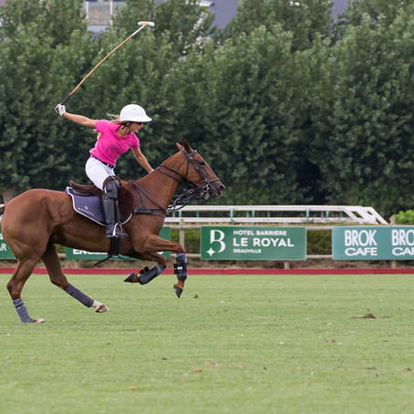 "Le Deauville International Polo Club, the ""place to be"" en août !"