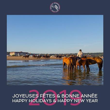 - Joyeuses Fêtes et Bonne Année 2019 -