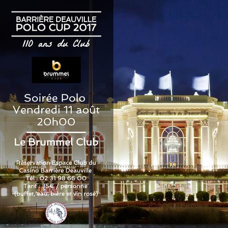 - Soirée Polo au Brummel Club -