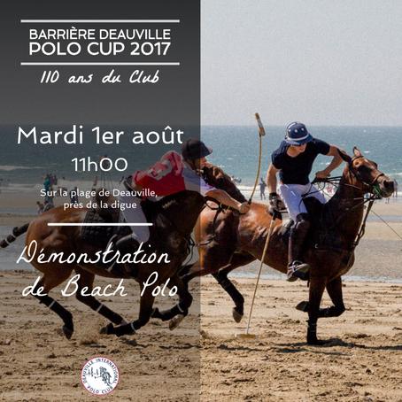 - Lancement de la Barrière Deauville Polo Club -