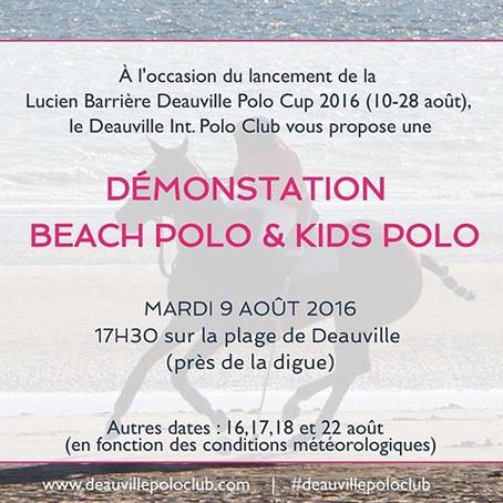 - Lancement de la Lucien Barrière Deauville Polo Cup 2016 -