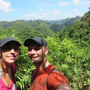 Après avoir grimpé plus d' 1H dans la jungle...jpg