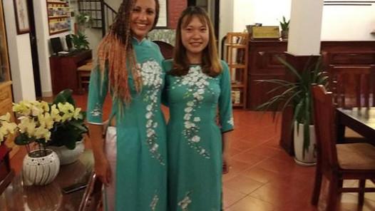 avec ma jumelle vietnamienne ;)