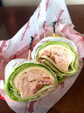 Lettuce Wrapped Turkey Sub