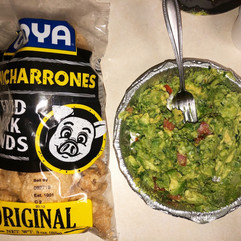 Pork Rinds and Guac