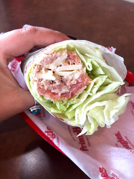 Lettuce Wrapped Tuna Sub