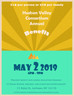 Annual Benefit May 2nd, 6-9PM