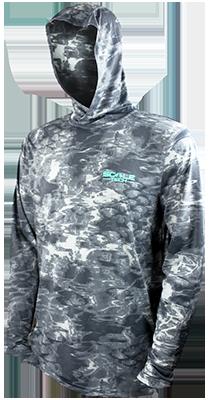 ScaleTech Long Sleeve Hoodie Tripletail