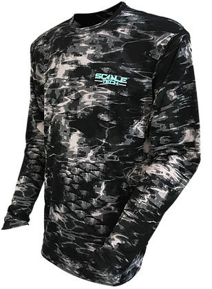 ScaleTech Long Sleeve Crew Blacktip