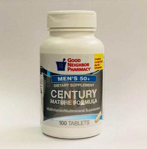 GNP Men's 50+ Century Multivitamin