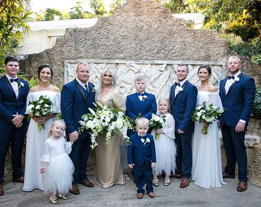 Stunning bridal party!! We hope you had