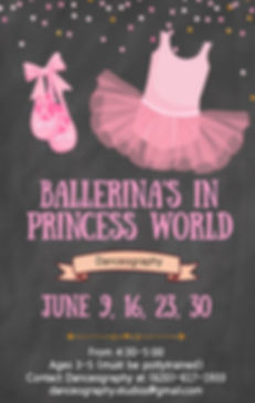 Copy of Ballerina birthday party invitat
