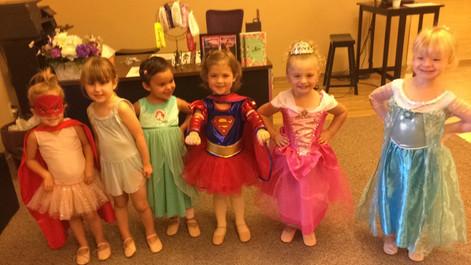 Princess and Superhero week!