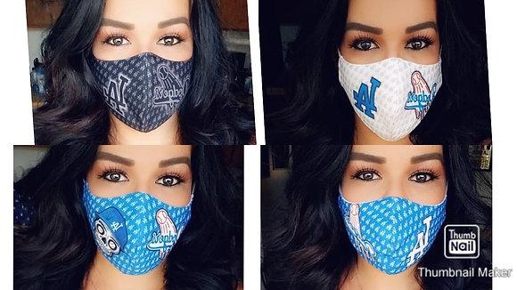 4 Masks Custom Black/DDLD/White/Blue