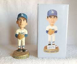 2012 SGA Dodgers Sandy Koufax Bobblehead NEW