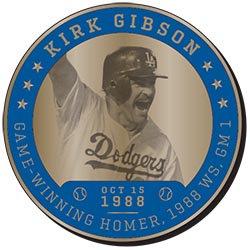 2017 SGA DODGERS Kirk Gibson Greatest Moments Coin