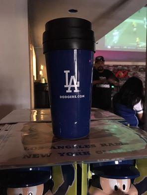 Los Angeles Dodgers Coffee Tumbler New