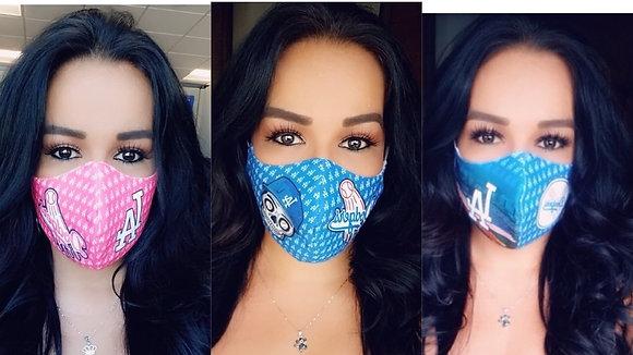 3 Masks Custom Pink/Stadium/DDLD
