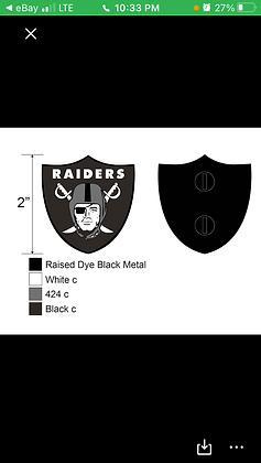 "Raider pin 2"""