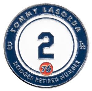 2016 SGA Dodgers Tommy Lasorda #2  PIN