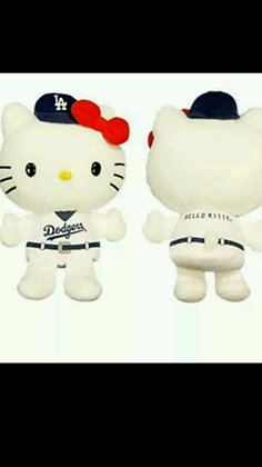 2015 SGA Dodgers Hello KItty Plush Doll 7/8/2015