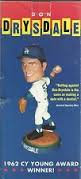 2004 SGA Dodgers Don Drysdale Bobblehead New