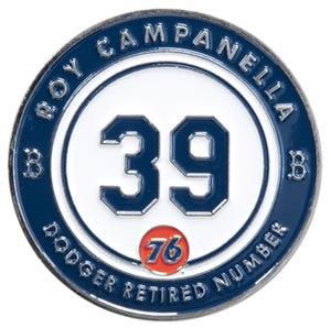 2016 SGA Dodgers Retired Pin  # 39 Roy Campanella