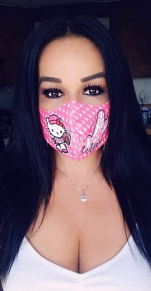 HelloKItty Pink Mask Custom