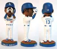 2013 SGA Dodgers Hanley Ramirez Bobblehead New