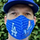 Thumbnail: 5 Masks Custom Black/Blue/DDLD/ White/Stadium