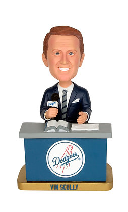 2012 SGA Dodgers SGA Vin Scully New