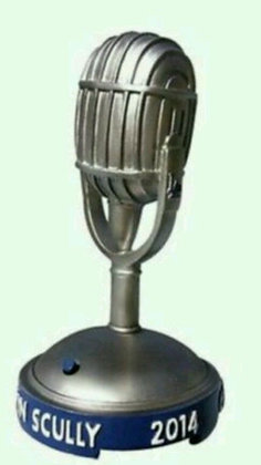 2014 SGA Dodgers Microphone Vin Scully