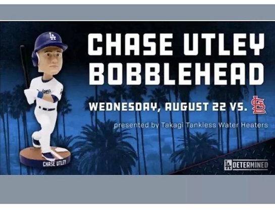 Chase Utley 2018 Dodgers bobblehead