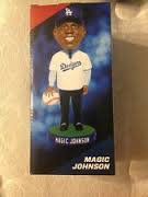 2013 SGA Dodgers Magic Johnson Bobblehead New
