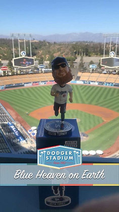 2018 Justin Turner 5k Los Angeles Dodgers Foundation Bobblehead