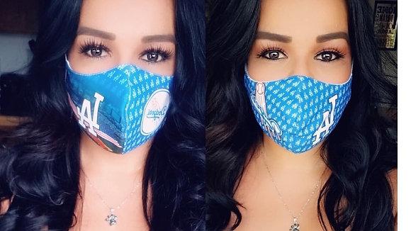 2 Masks Custom Stadium/Blue