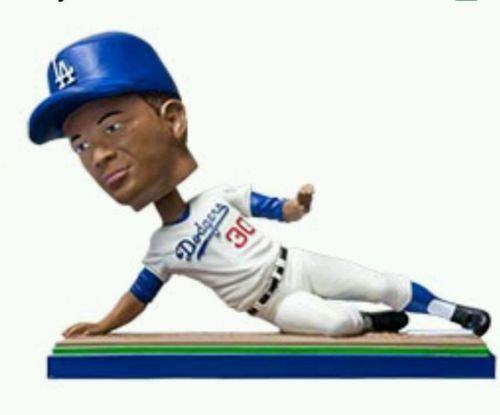 2015 Dodgers SGA Maury Willis Bobblehead