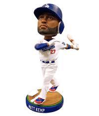 2013 SGA Dodgers Matt Kemp Bobblehead New