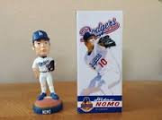 2002 SGA Dodgers Hideo Nomo Bobblehead New