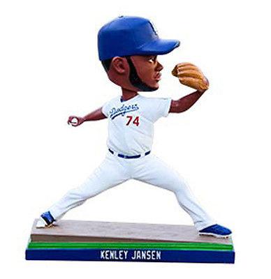 2015 SGA Dodgers Kenly Jensen Bobblhead NEW