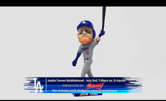 2019  Dodgers Bobblehead  Justin Turner